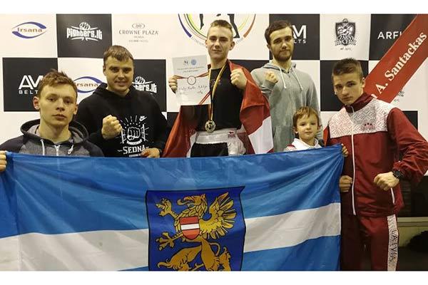 Четыре резекненские кикбоксёра завоевали пять медалей