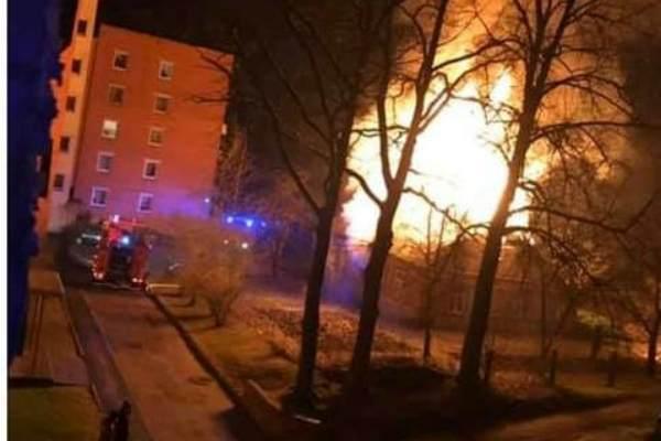 В Резекне при пожаре пострадали два человека