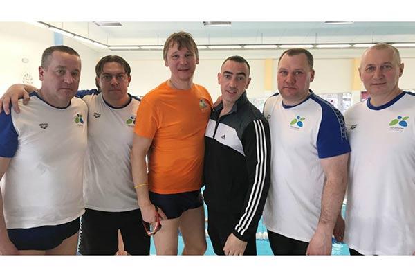Резекненские ветераны по плаванию успешно стартовали в Таллине