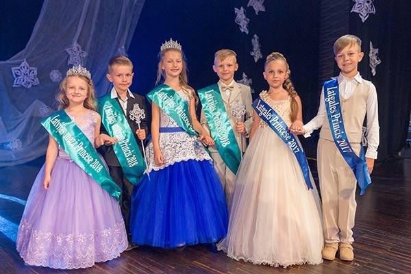 Объявлены обладатели титулов «Принц и Принцесса Латвии 2018»