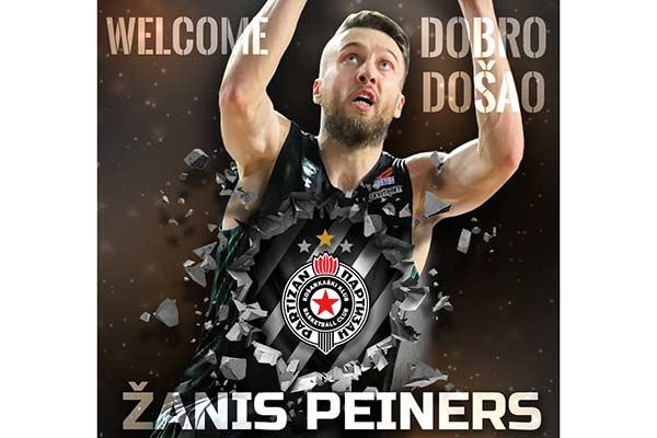 Жанис Пейнерс стал игроком «Партизана»