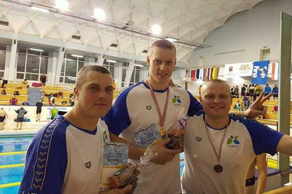 Чемпионат Балтии по плаванию «Rīga Amber Cup» в категории «Мастерс»