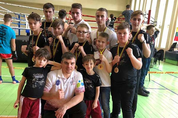Достижения кикбоксёров в Литве
