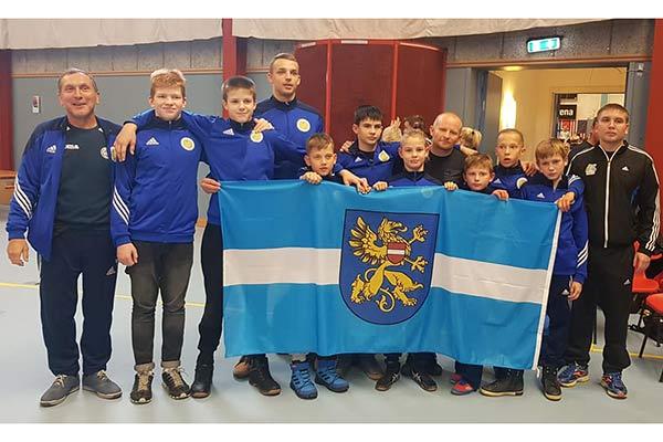 Наши борцы успешно выступили на турнире в Швеции