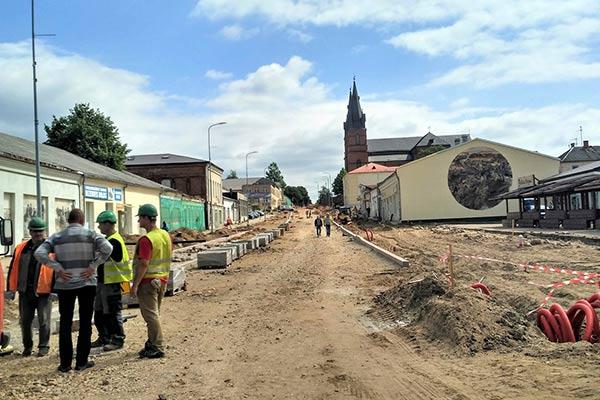 В Резекне древний скелет остановил ремонт улицы