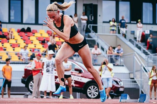 Гунта Латышева-Чударе – чемпионка Латвии по лёгкой атлетике