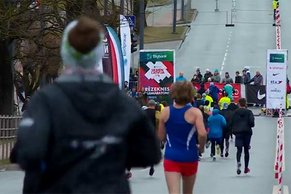 ВИДЕО: как в Резекне прошёл уже в шестой раз этап забега «Беги, Латвия!»