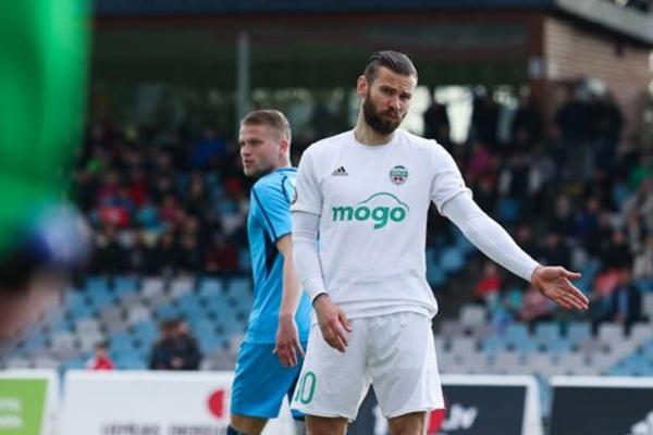 Эдгар Гаурач покидает FK Liepāja и возвращается в лидерский состав Высшей лиги Латвии по футболу SynotTip