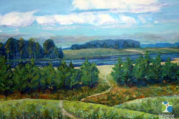 Волшебство красок Латгалии в картинах Семёна Антонова