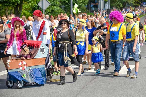 4 августа – юбилейный Парад семей в Резекне!