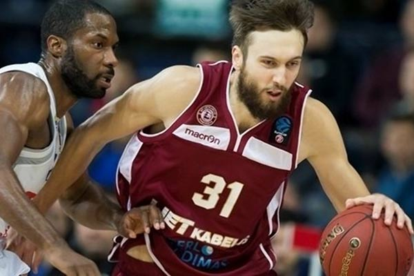 Ж.Пейнер стал первым резекненским баскетболистом, играющим в Евролиге