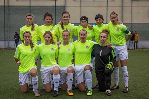 Резекненки взяли серебро Латвийского женского кубка по футболу (фото, видео)
